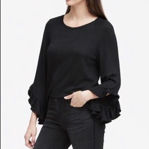 Banana Republic Ruffle Sleeve Top - All 3 for $50